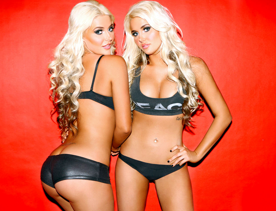 Cute teens in bikinis