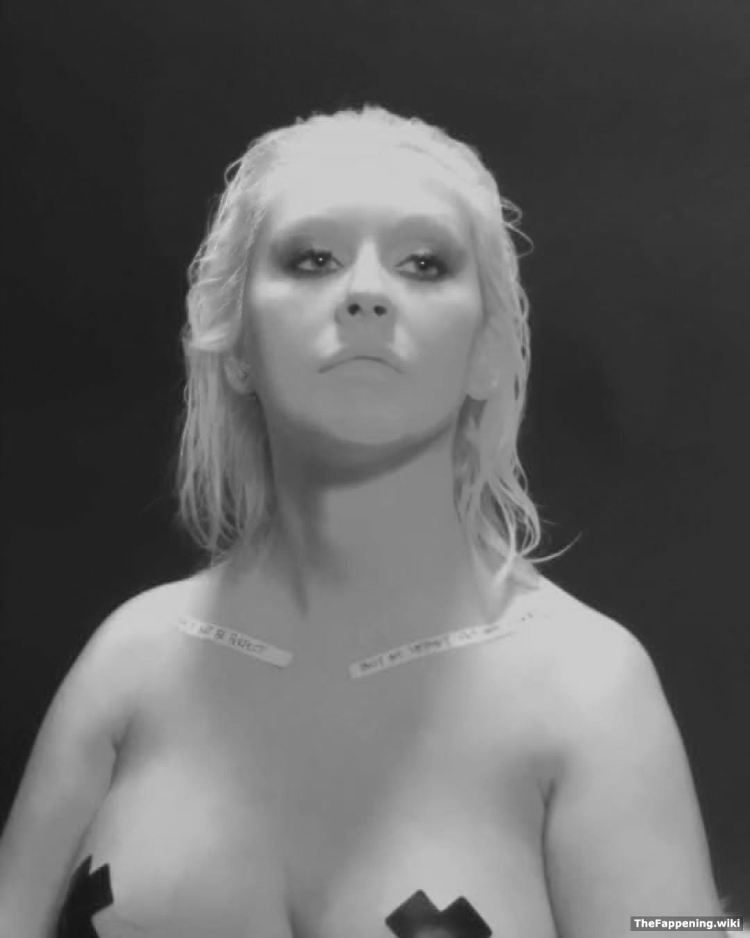 Consider, that Free christina aguilera nude pics