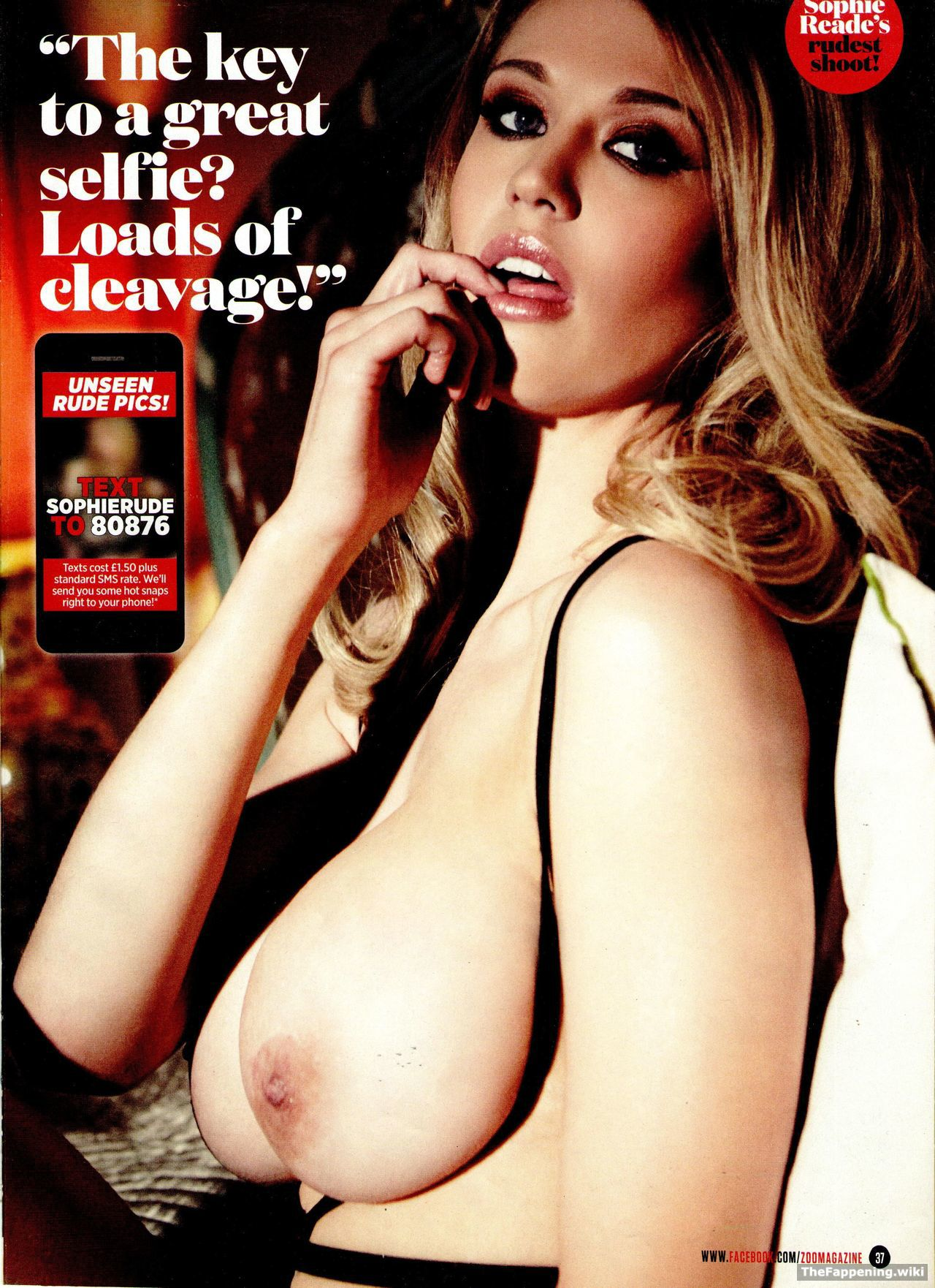 Accept. The Sophie reade sex tape that