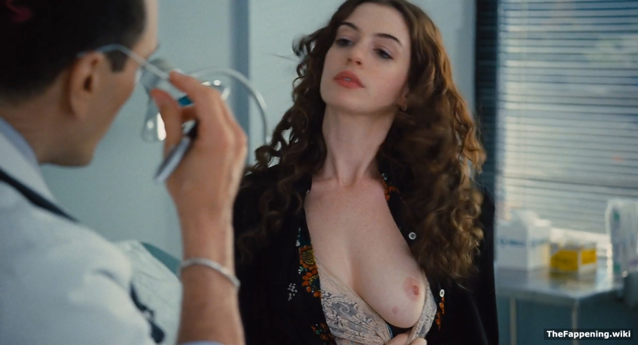 Hathaway in movie nude anne