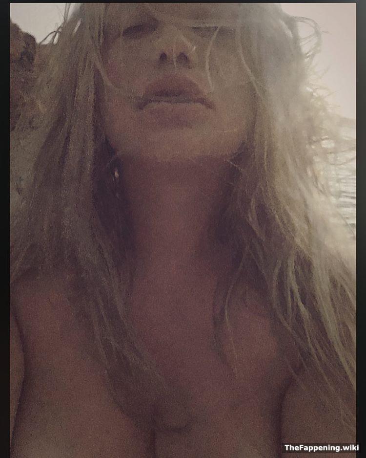Girl naked in rain
