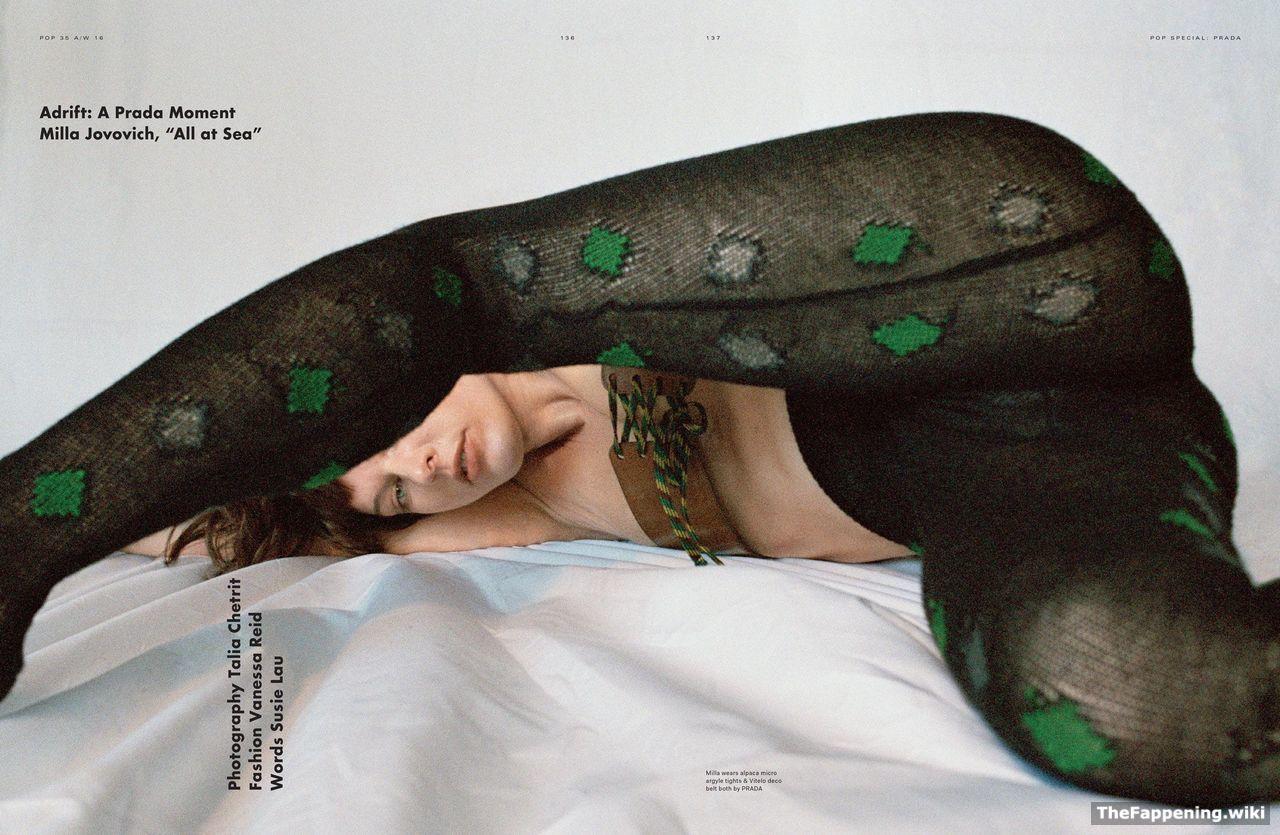 anal pics of milla jovovich