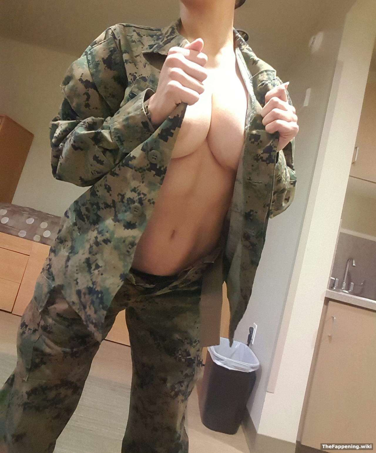 Most military wives nude agree, she