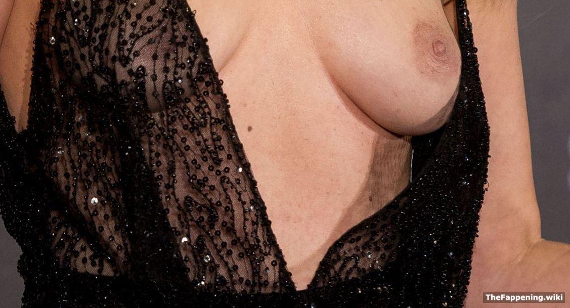 Adriana abenia nipple